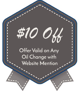 $10 Off, Offer Valid on Any Oil Change with Website Mention