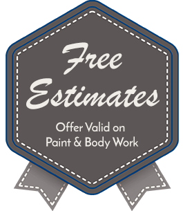 Free Estimates, Offer Valid on Paint & Body Work